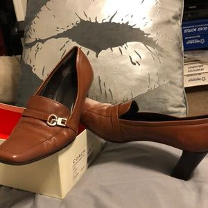 Butterscotch baby calf coach shoe 👞 9